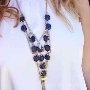 Kendra Scott Valerie Necklace in Blue Lapis